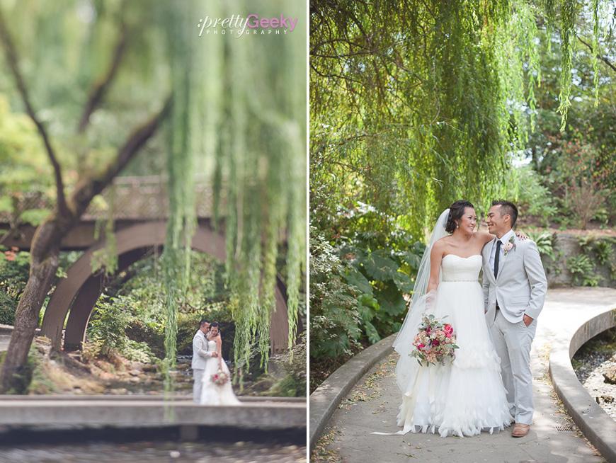 Crystal Springs Rhododendron Garden Wedding Photos Evelyn