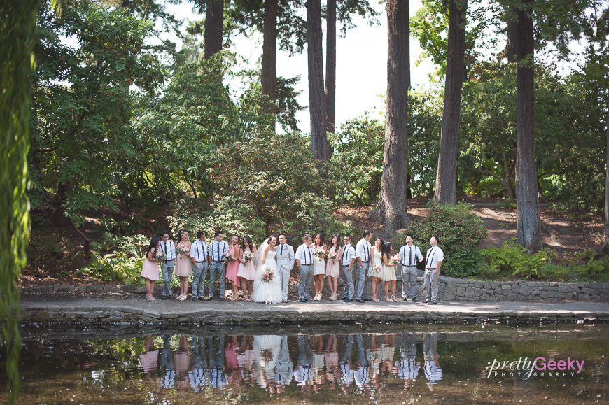 crystal springs rhododendron garden wedding photo 041 Portland Wedding: Evelyn + Jerry