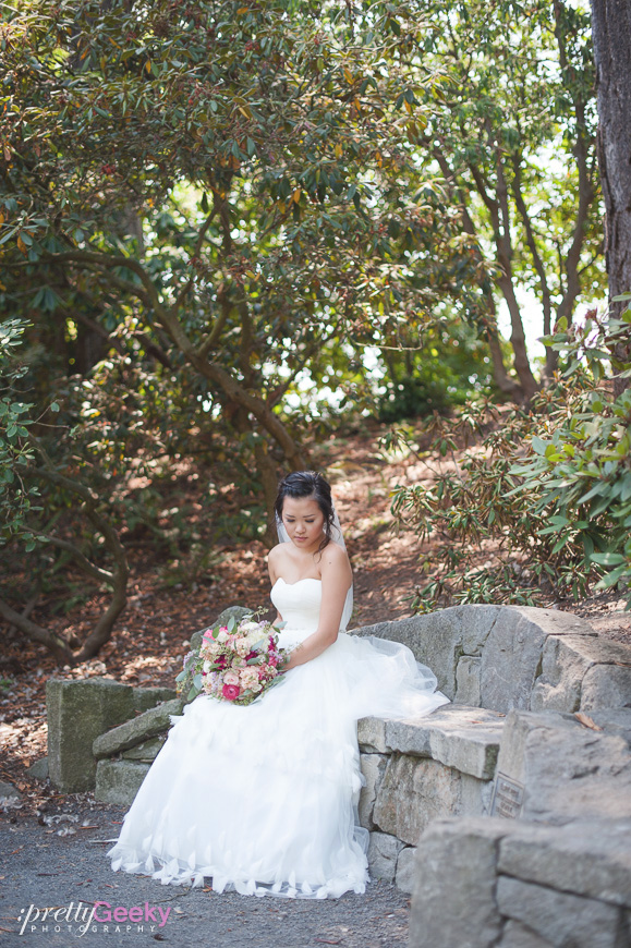 crystal springs rhododendron garden wedding photo 052 Portland Wedding: Evelyn + Jerry