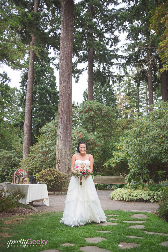 crystal springs rhododendron garden wedding photo 069 Portland Wedding: Evelyn + Jerry