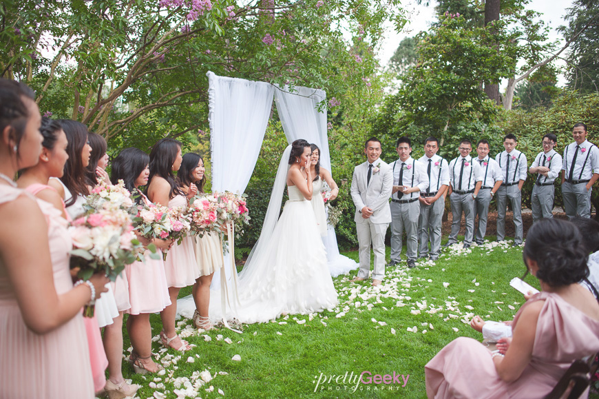 crystal springs rhododendron garden wedding photo 074 Portland Wedding: Evelyn + Jerry