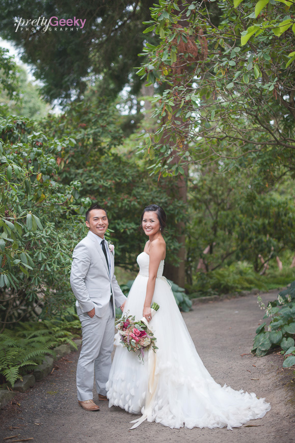 crystal springs rhododendron garden wedding photo 091 Portland Wedding: Evelyn + Jerry